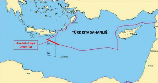 ΠΡΟΚΛΗΤΙΚΟ ΔΗΜΟΣΙΕΥΜΑ /ΒΑΣΕΙ ΤΟΥΡΚΟ-ΛΙΒΥΚΟΥ/ΓΕΝΙ ΣΑΦΑΚ.Έρευνες και γεωτρήσεις κάτω από την Κρήτη ξεκινά η Τουρκία