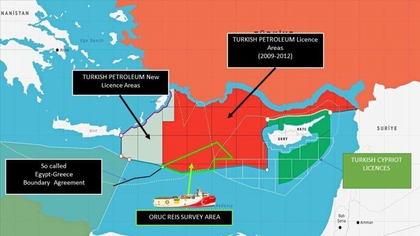 Κατακόρυφη κλιμάκωση των Τουρκικών προκλήσεων στην ανατολική Μεσόγειο.