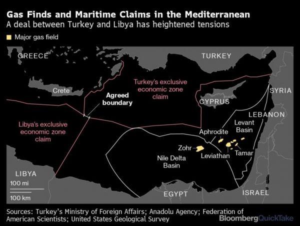 Έκκληση Πομπέο προς την Άγκυρα για αποκλιμάκωση και επίσκεψη αστραπή  στην Κύπρο.Ανησυχία για κινήσεις Ρωσίας-Γαλλίας στη Μεσόγειο…