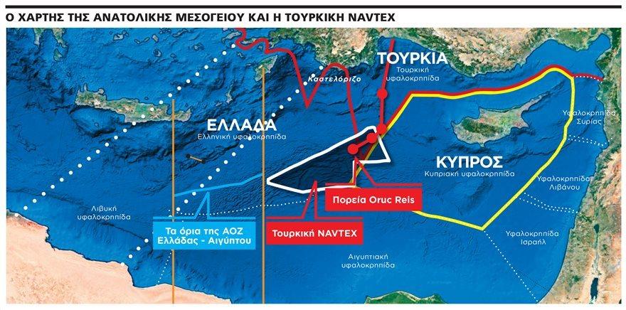Άγνωστο και νεφελώδες το μέλλον των Ευρωτουρκικών σχέσεων παρά τις επικείμενες διερευνητικές επαφές και τακτικής φύσης και περίεργοι ελιγμοί της Άγκυρας. Αμερικανικές φιλο-τουρκικές θέσεις σε ζητήματα δικαίου της θάλασσας.